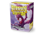 Dragon Shield 100 Box - Matte Clear Purple