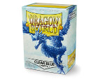 Dragon Shield 100 Box - Matte Clear Blue
