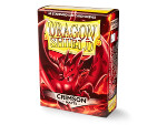 Dragon Shield 60 Box - Matte Crimson