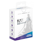 Ultimate Guard Katana Sleeves Standard Size - White (100)