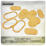 Cavalry Tray (for 3 cavalry models) 3x