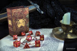 Elder Dice: Red Brand of Cthulhu Polyhedral Set (7)