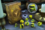 Elder Dice: Yellow Sign Polyhedral Set  (7)