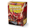 Dragon Shield 100 Box - Matte Ruby