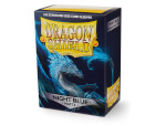 Dragon Shield 100 Box - Matte Night Blue