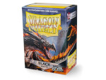 Dragon Shield 100 Box - Matte Black (Non-Glare)