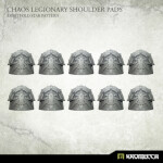 Chaos Legionary Shoulder Pads: Eightfold Star (10)