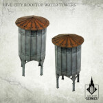 Hive City Rooftop Water Towers