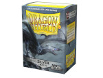 Dragon Shield 100 Box - Matte Silver (Non-Glare)