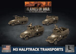 M3 Halftrack Transport Platoon (UBX76)