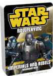 Star Wars Roleplaying: Adversary Deck - Imperials and Rebels