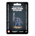 Space Marines: Primaris Lieutenant with Power Sword
