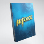 Keyforge: Logo Card Sleeves - Blue (40)