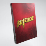 Keyforge: Logo Card Sleeves - Red (40)