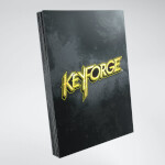 Keyforge: Logo Card Sleeves - Black (40)