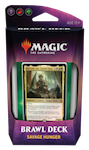 MTG: Throne of Eldraine Brawl Deck - Savage Hunger (Black/Red/Green)