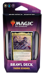 MTG: Throne of Eldraine Brawl Deck - Faerie Schemes (White/Blue/Black)